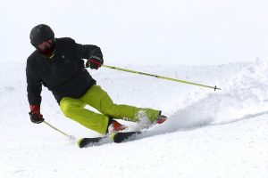 bajada esqui