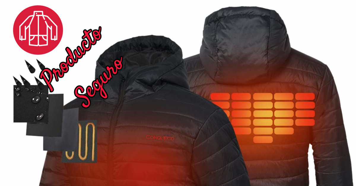 Usar chaqueta calefactable es totalmente seguro
