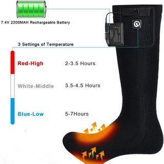 Funcionamiento calcetin electrico