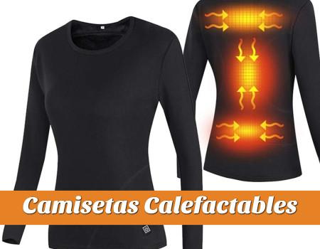 Camisetas con calefaccion